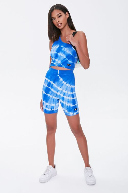 BLUE/WHITE Kendall & Kylie One-Shoulder Top, image 5