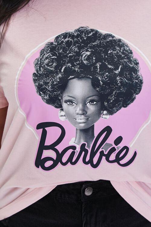 PINK/MULTI Plus Size Barbie Graphic Tee, image 5