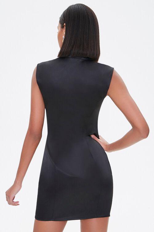 Satin Mini Dress, image 3