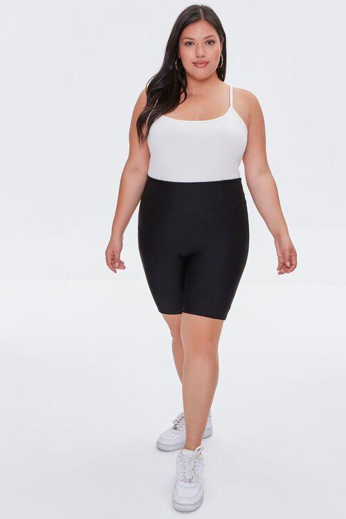 Plus Size High-Rise Biker Shorts, image 5