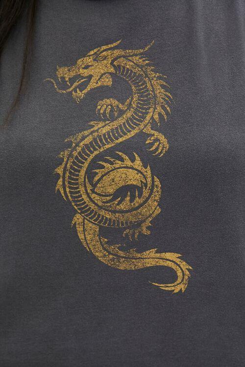 GREY/MULTI Plus Size Dragon Muscle Tee, image 5