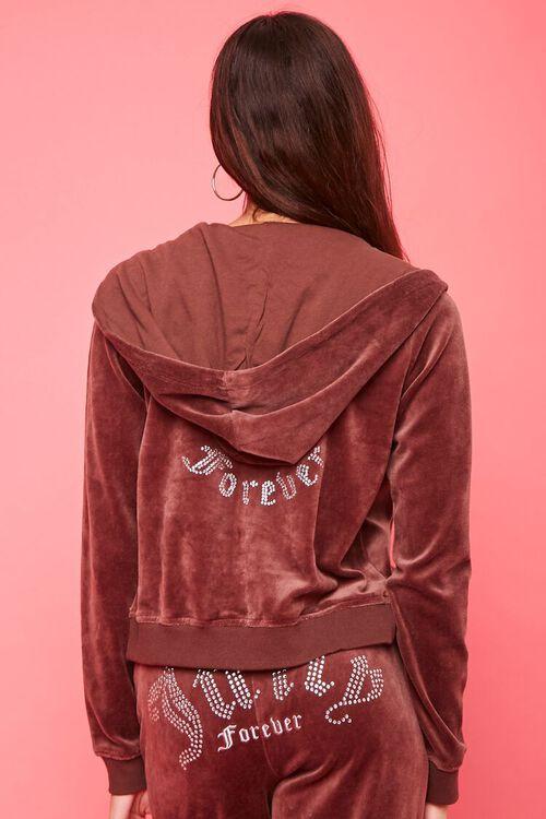 Juicy Couture Velour Zip-Up Jacket, image 4