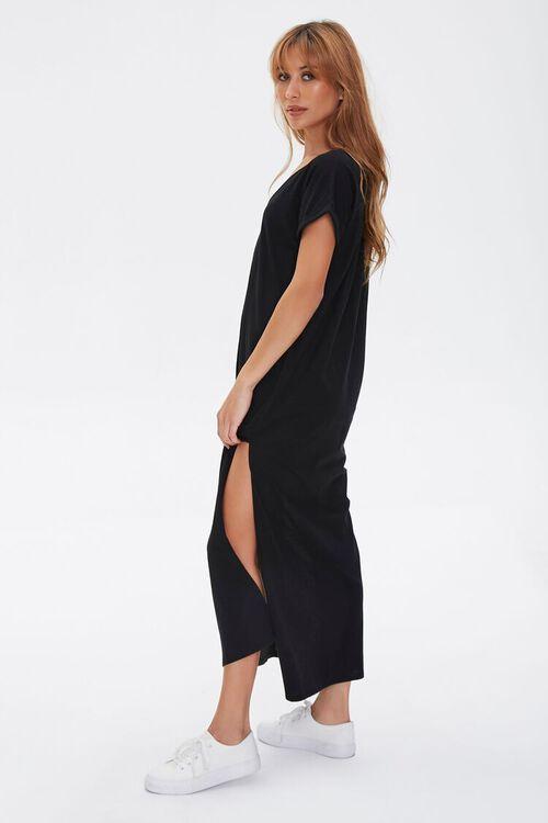 Side-Slit Maxi Dress, image 3