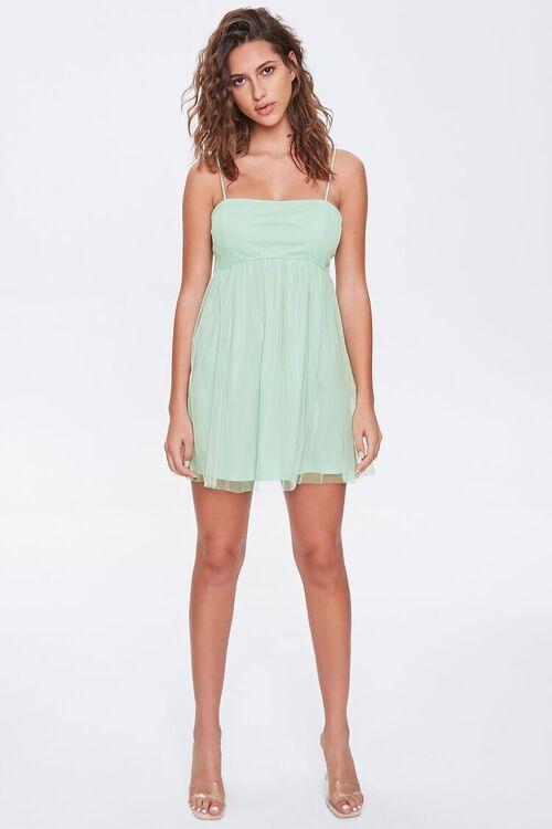 Fit & Flare Cami Mini Dress, image 4