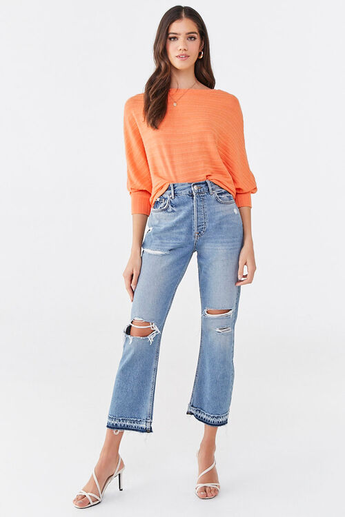 Ribbed Dolman Top, image 4