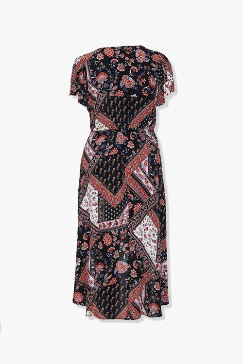 Plus Size Floral Button-Front Dress, image 2