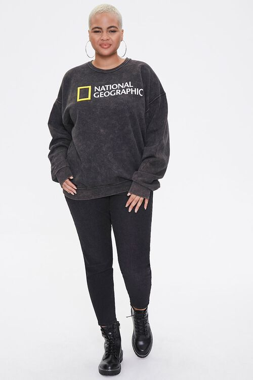 Plus Size National Geographic Sweatshirt, image 4
