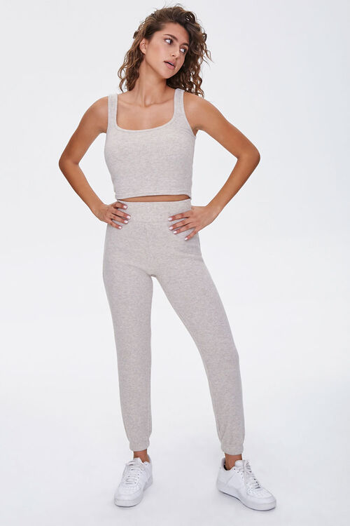 Ribbed Cropped Tank Top, image 4