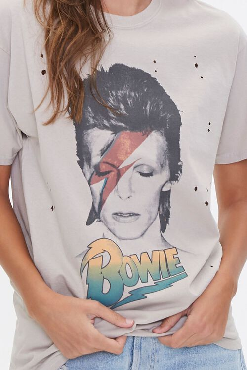 Distressed Bowie Graphic Tee, image 5