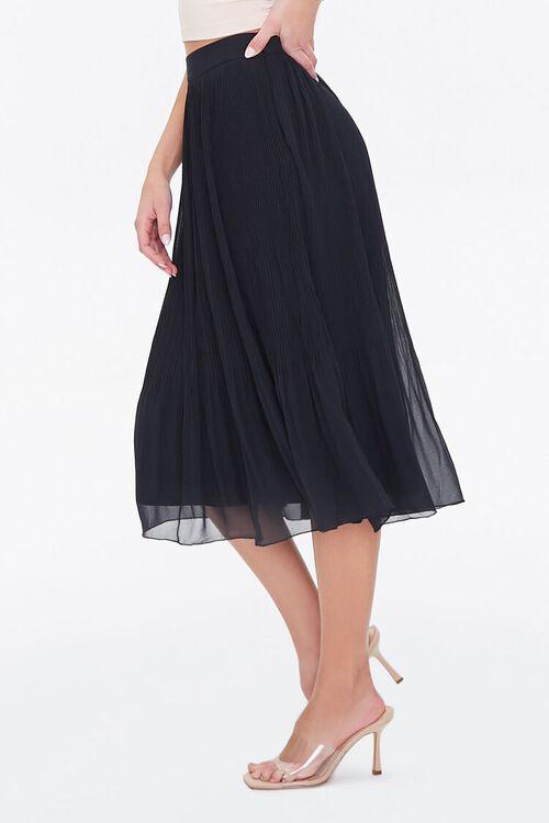 Knee-Length Pleated Skirt, image 3