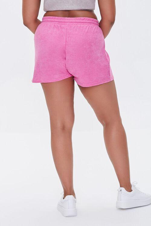 Plus Size French Terry Drawstring Shorts, image 4