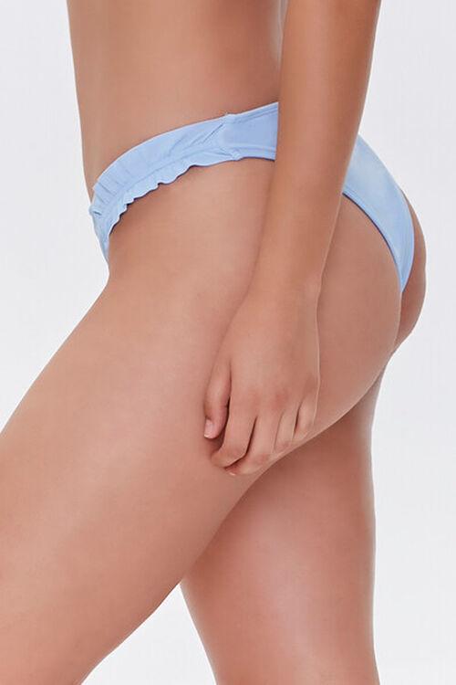 Smocked Low-Rise Bikini Bottoms, image 4