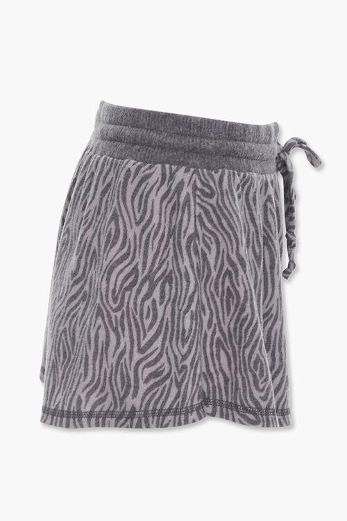 Tiger Stripe Print Shorts, image 2