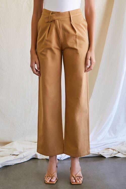 Wide-Leg Crisscross Pants, image 2