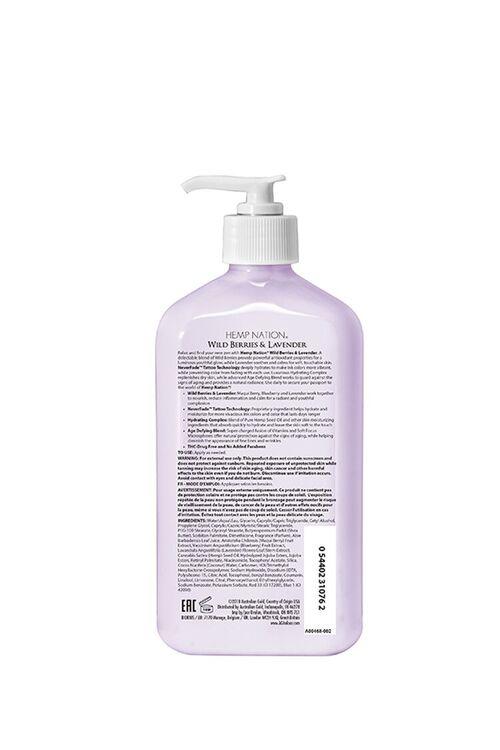 Wild Berries & Lavender Moisturizing Hemp Seed Oil Tan Extender , image 2