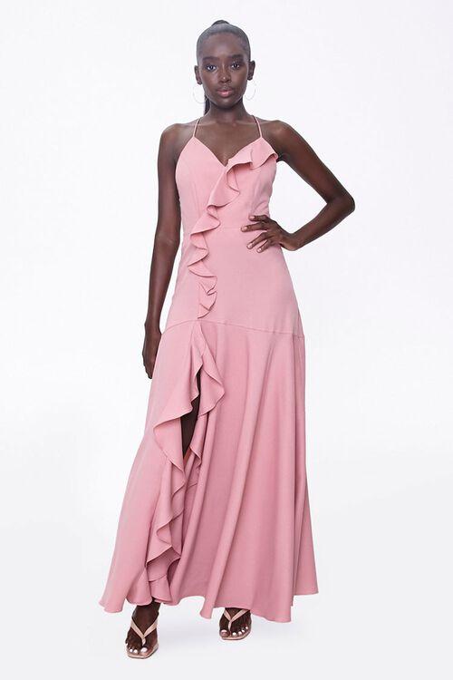Ruffle-Trim Maxi Dress, image 4