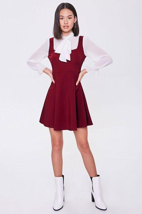 Chiffon Combo Dress, image 4