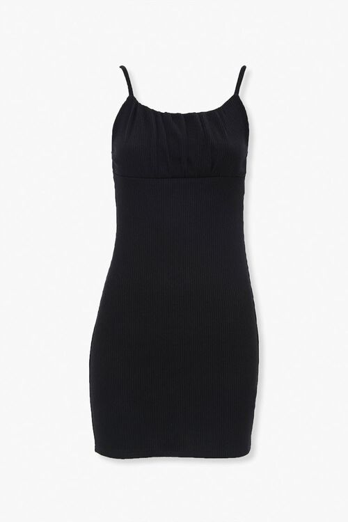 Ribbed Knit Bodycon Dress, image 1