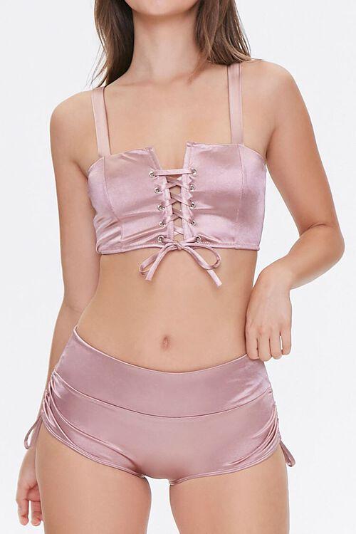 Satin Drawstring Panties, image 1