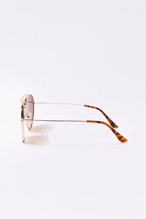 Men Tinted Aviator Sunglasses, image 3