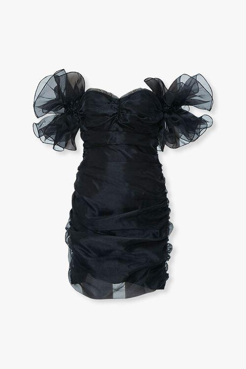 Organza Off-the-Shoulder Dress, image 1