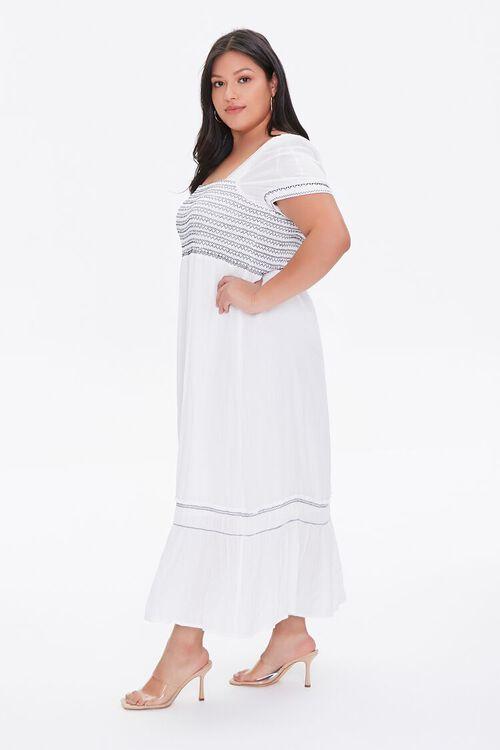 Plus Size Gauze Maxi Dress, image 3