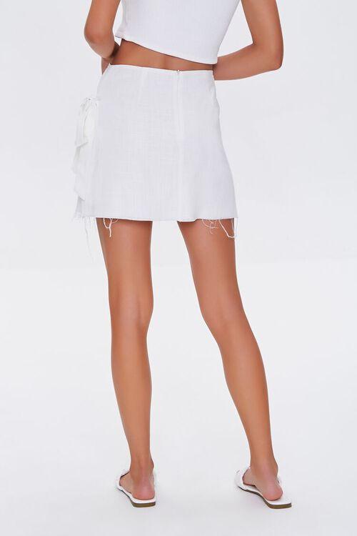 Frayed Wrap Skirt, image 4
