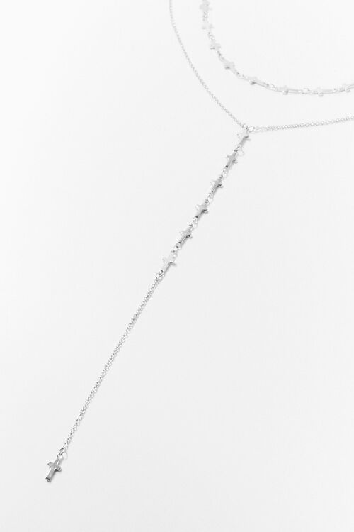 Cross Charm Necklace Set, image 1