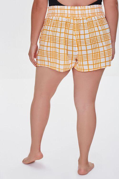 Plus Size Swim Cover-Up Shorts, image 4
