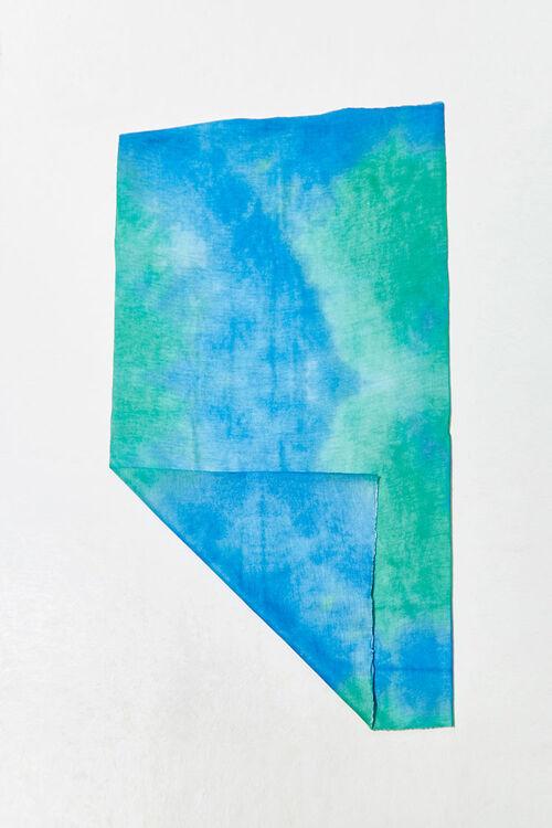 BLUE/MULTI Tie-Dye Wash Scarf, image 2