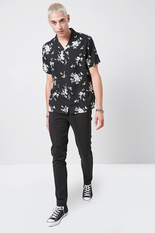 Classic Fit Floral Print Shirt, image 4