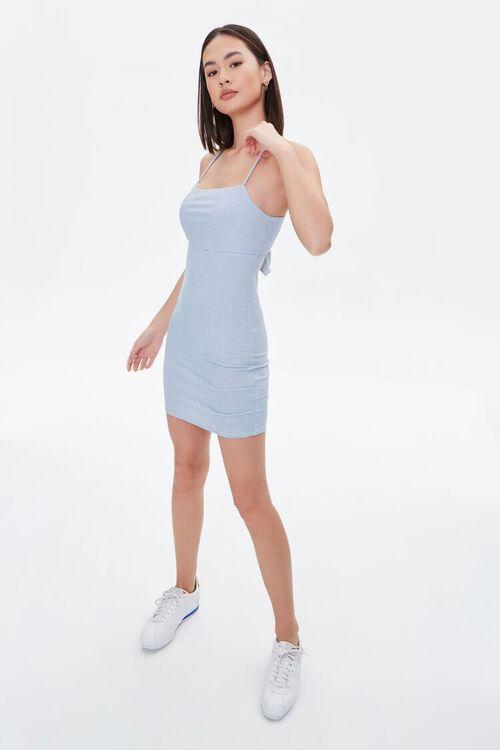 Tie-Back Bodycon Dress, image 4