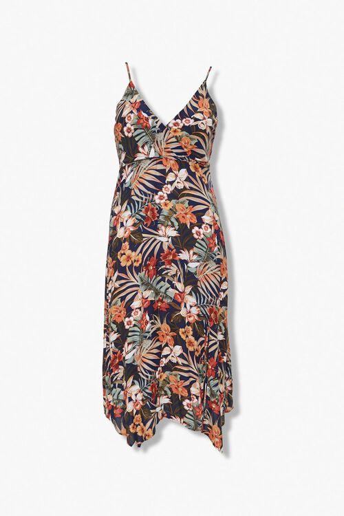 Plus Size Tropical Print Dress, image 5