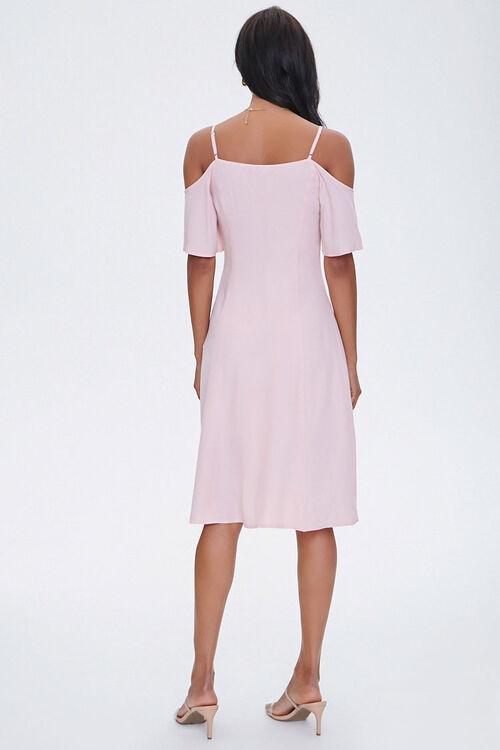 Buttoned Open-Shoulder Dress, image 3