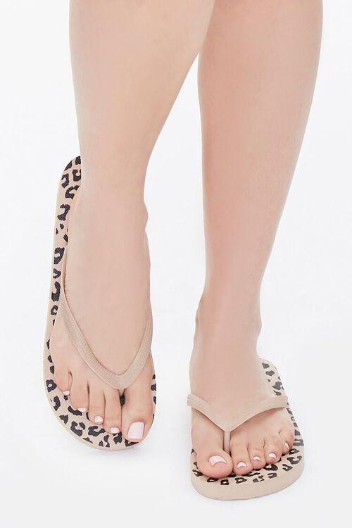 Leopard Print Flip-Flops, image 4