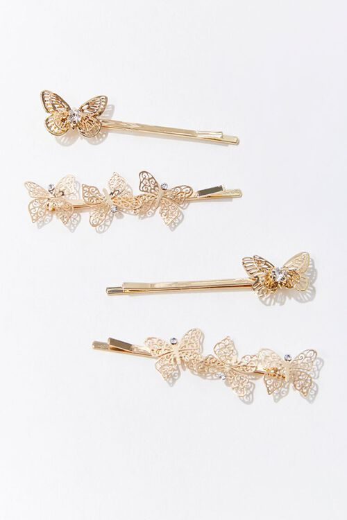 Butterfly Bobby Pin Set, image 1