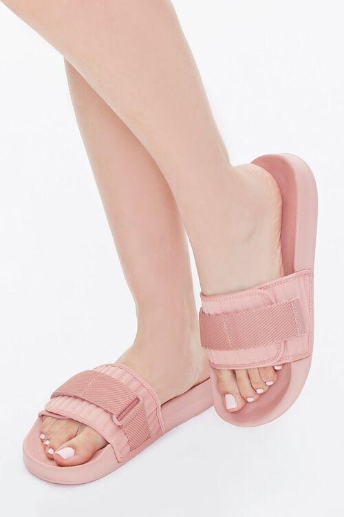 Recycled Adjustable Slide Sandals, image 1