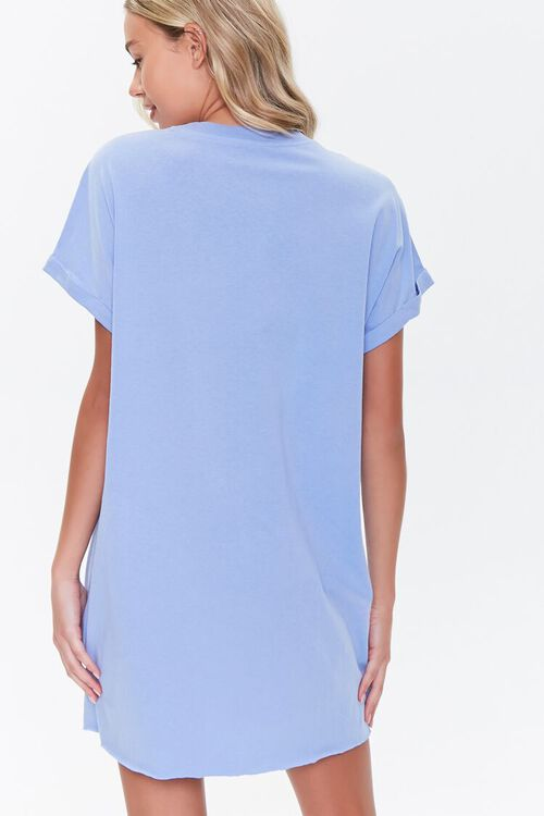 Cuffed T-Shirt Dress, image 3
