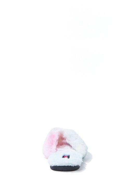 Cloud Wash Faux Fur Thong Sandals, image 2