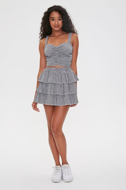 Gingham Tiered Skirt, image 5