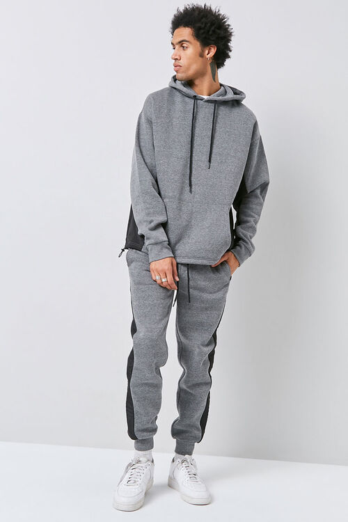 Heathered Colorblock Joggers, image 5