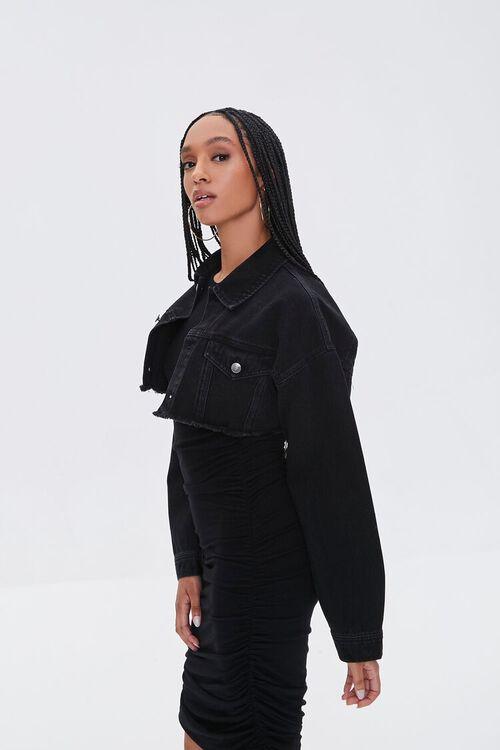 Cropped Denim Jacket, image 3