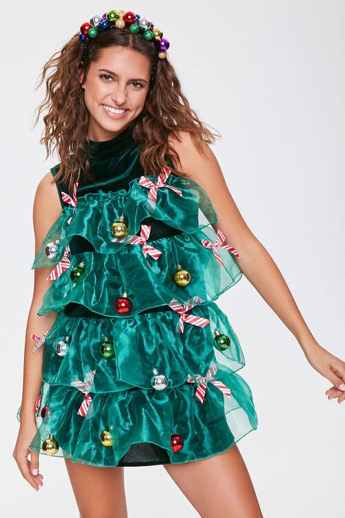 Christmas Tree Holiday Dress, image 1