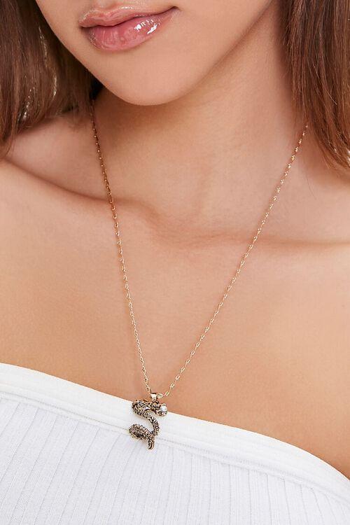Dragon Pendant Necklace, image 1