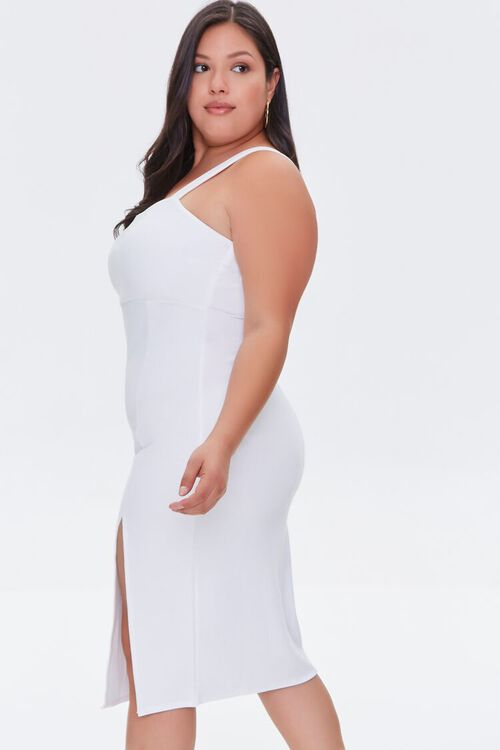 Plus Size Bodycon Slit Dress, image 2