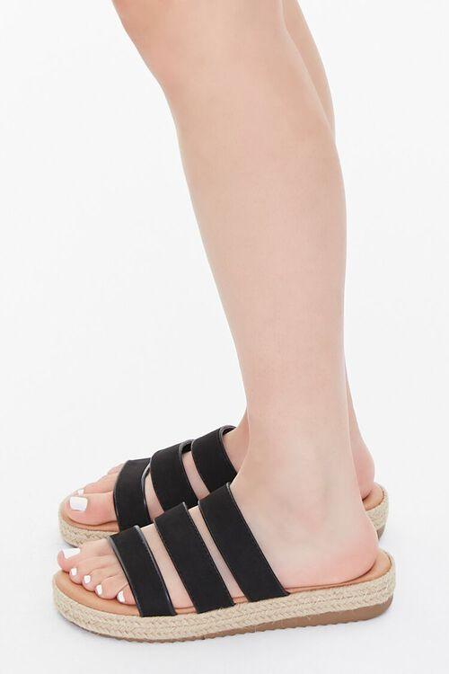Triple-Strap Espadrille Sandals, image 2