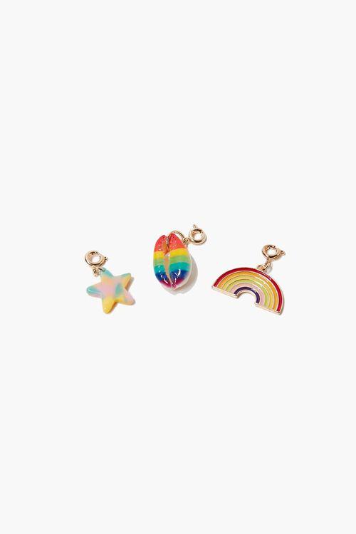 Rainbow Cowrie Charm Set, image 1