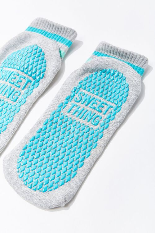 Sweet Thing Graphic Textured Ankle Socks, image 2