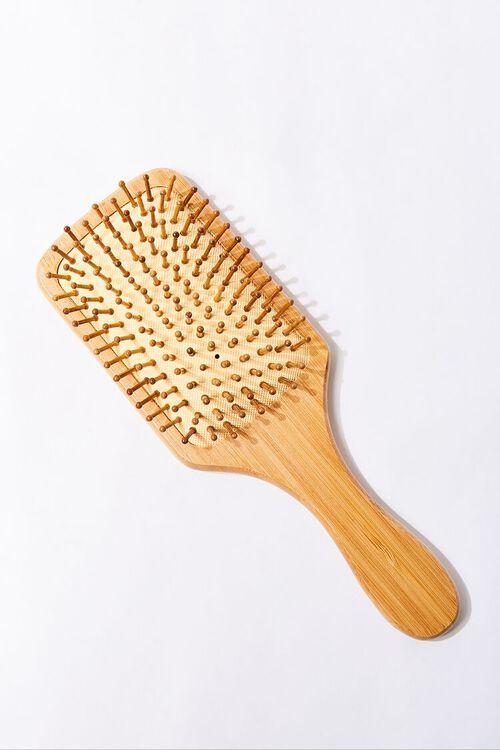 Bamboo Paddle Hair Brush, image 1