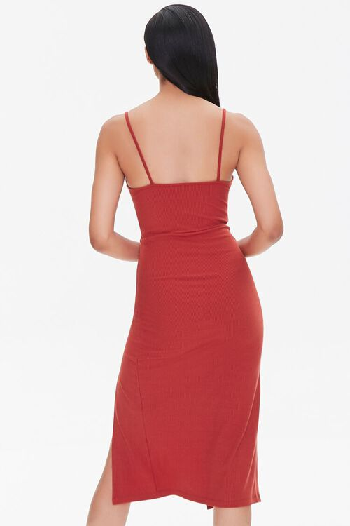 Ruched Cami Bodycon Dress, image 3